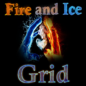 Fire And Ice Grid logo