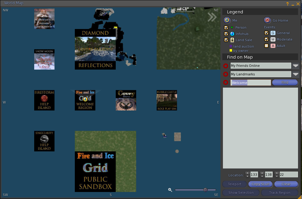 image showing custom map tiles on the world map