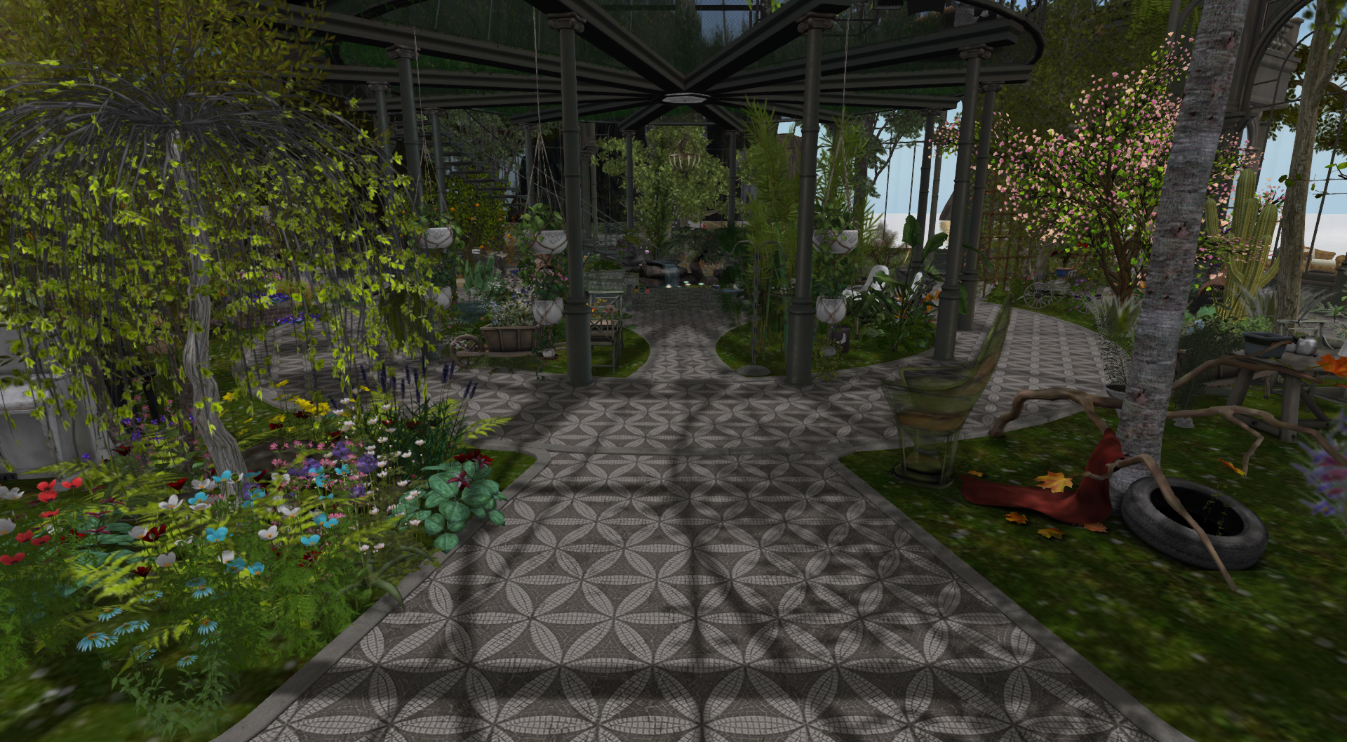 Winter Garden - Diamond Reflections Relaunch - Fire And Ice Grid