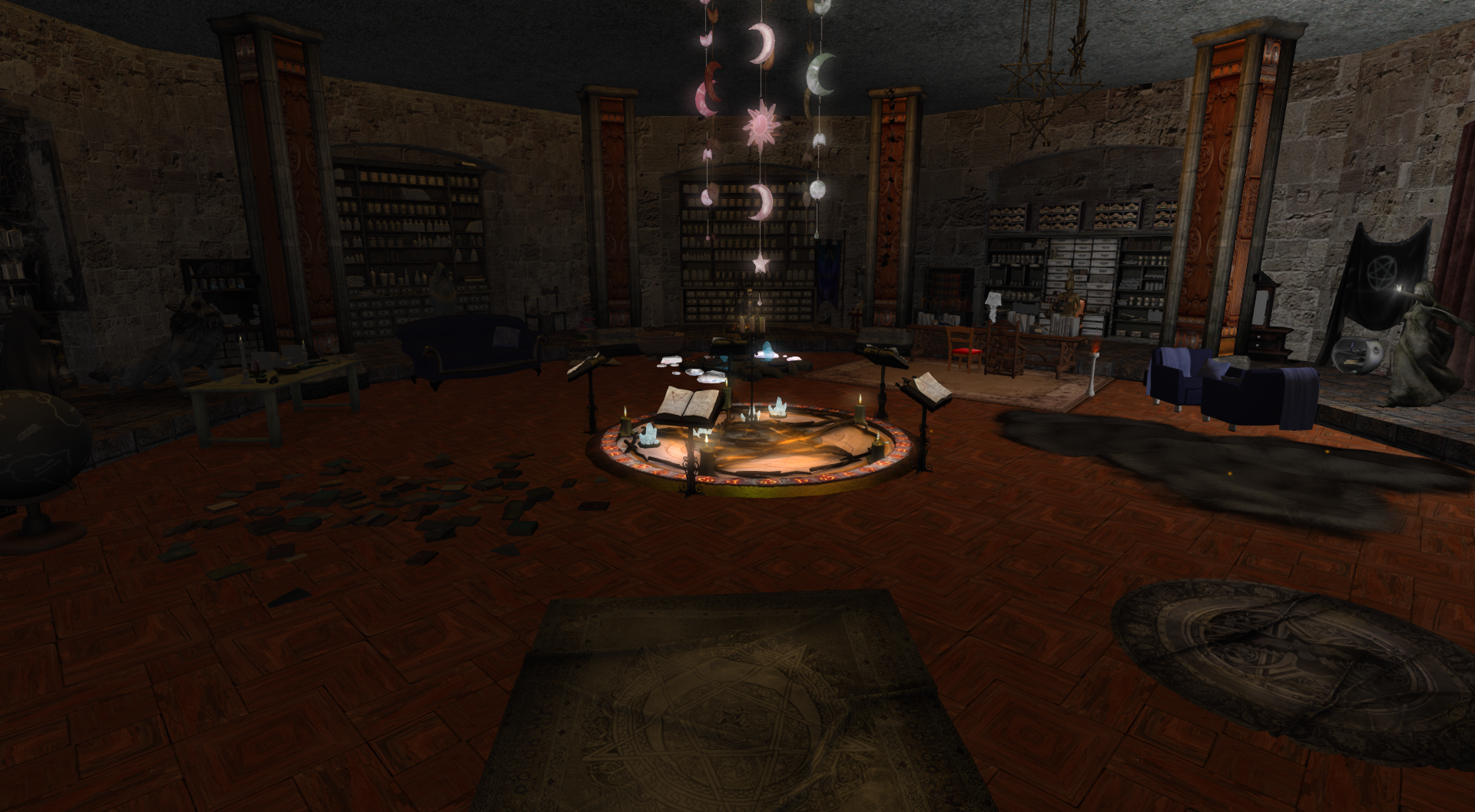 Witch Cave - Diamond Reflections relaunch at the Fire And Ice Opensim Grid