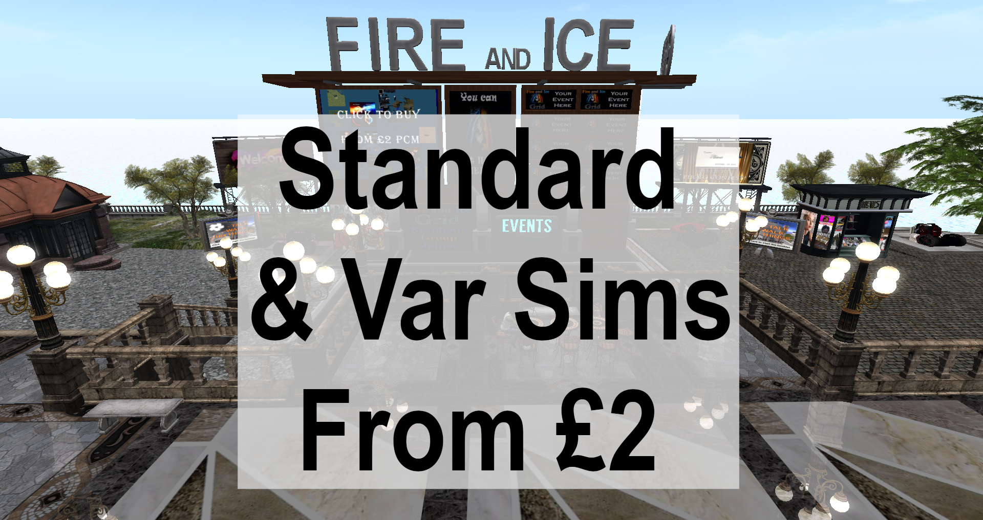 Fire And Ice Grid - Land Prices