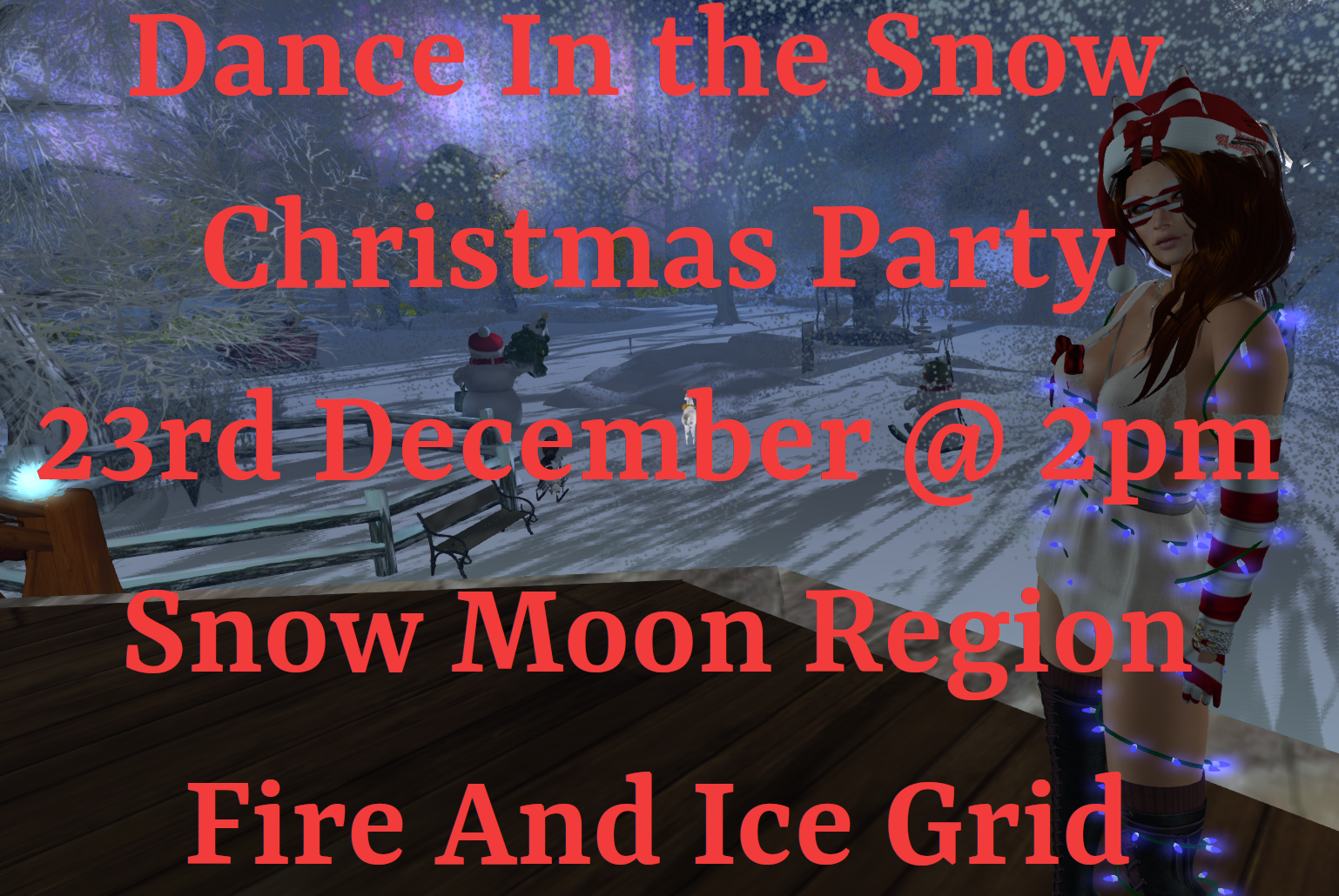 Dance In The Snow - Christmas Party Event