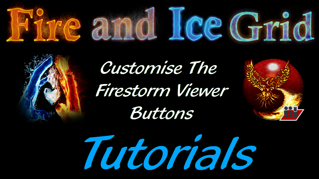 Customise Firestorm Viewer Buttons