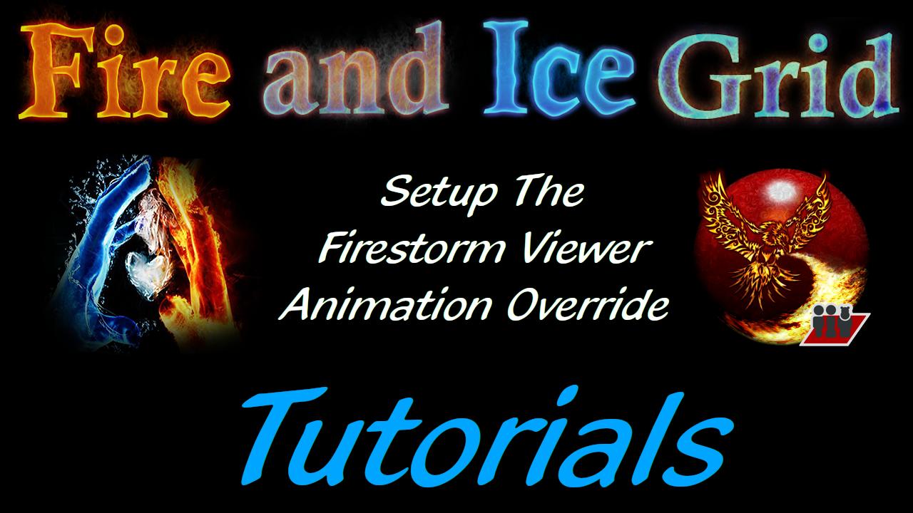 Firestorm Viewer Animation Over Ride