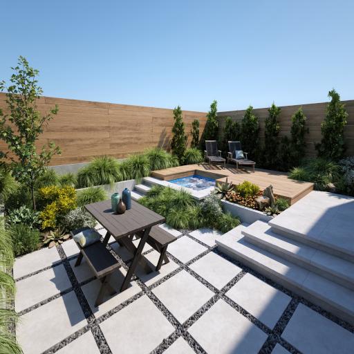 Blossom Plaza Garden - Garden And Furniture Ubode Update