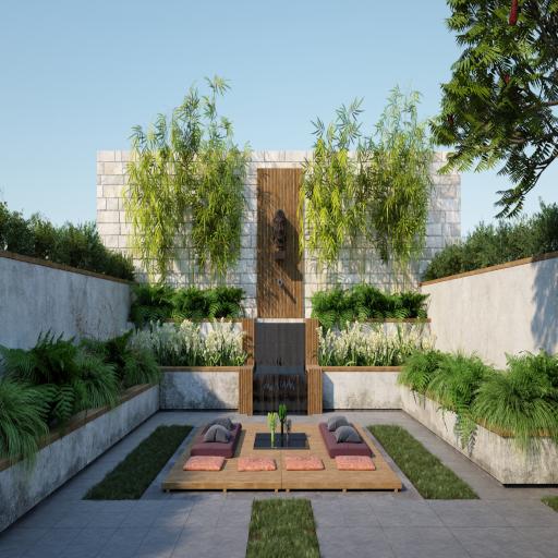 Cascade Garden - Garden And Furniture Ubode Update