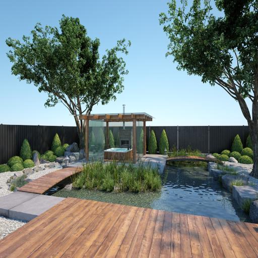 Water Front Park Garden