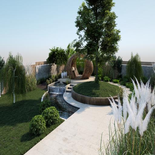 Waterlinet Garden
