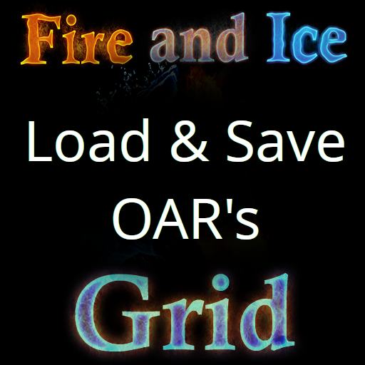 Saving And Loading OAR's at Fire And Ice Grid