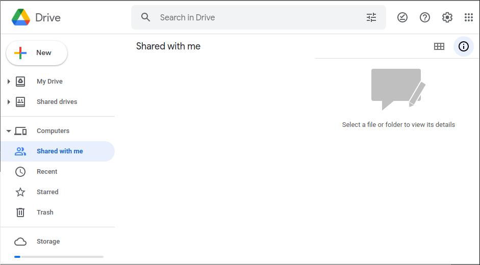 Google Drive Workspace Account - Shared Drive