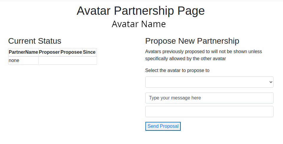 Make a proposal - Website Partnership Available at Fire And Ice